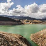 Santa Giustina lake