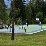 Basket playground